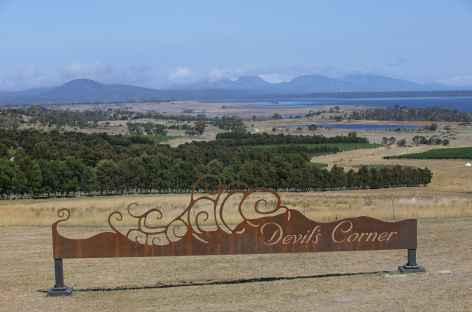 Arrivée dans le parc de Freycinet - Tasmanie -