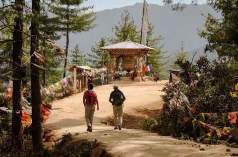 Sur le chemin de Taktsang - Bhoutan -