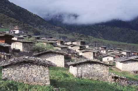 Village de Merak - Bhoutan -
