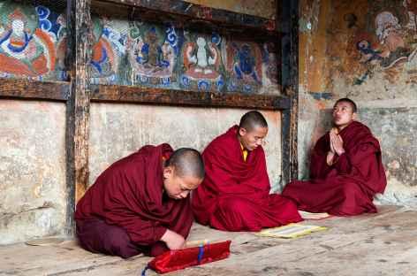 Au monastère - Bhoutan -