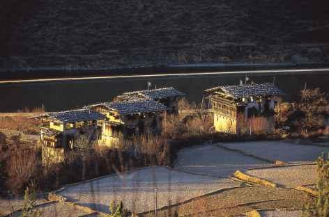 Village Bhoutanais -