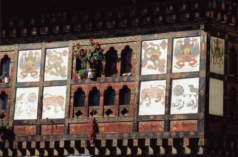 Détail d'architecture - Bhoutan -