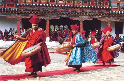 Tsechu  - Bhoutan -