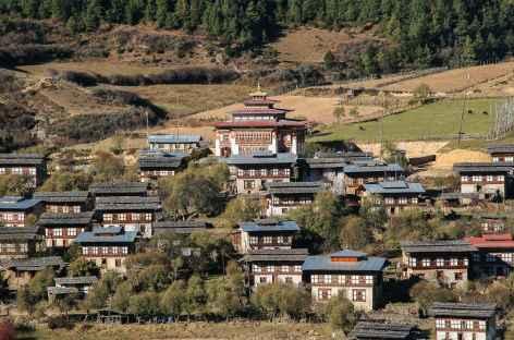 Village de Ura - Bhoutan -