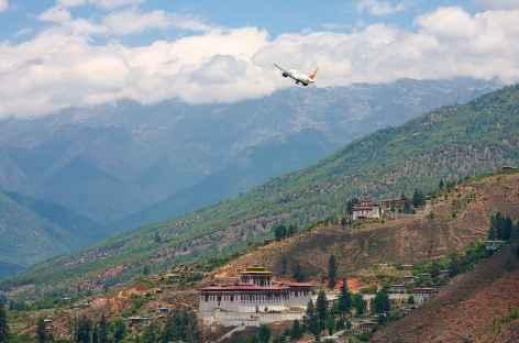 Décollage de Paro - Bhoutan -