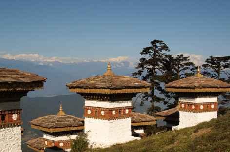 Vue du Dochu La  - Bhoutan -