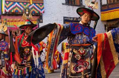 Tsechu de Paro  - Bhoutan -