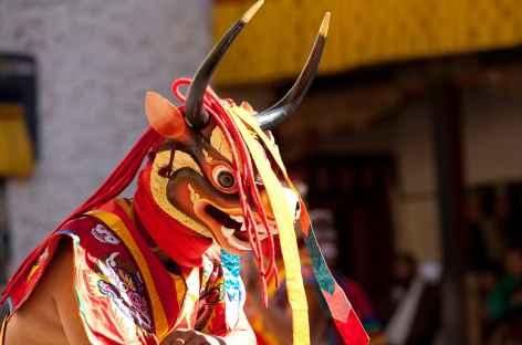 Les danses masquées  - Bhoutan -