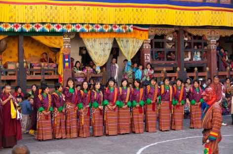 Au Festival  - Bhoutan -