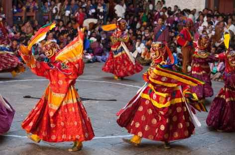 Danse masquée - Bhoutan -
