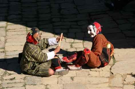 Apsara au Festival  - Bhoutan -
