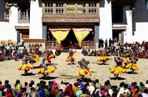 Festival de Gangtey - Phobjika - Bhoutan -