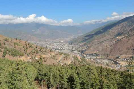 Vallée de Thimphu - Bhoutan -