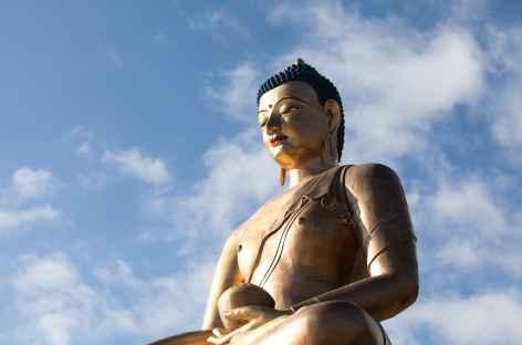 Le Grand Bouddha surveille la Capitale  - Bhoutan -