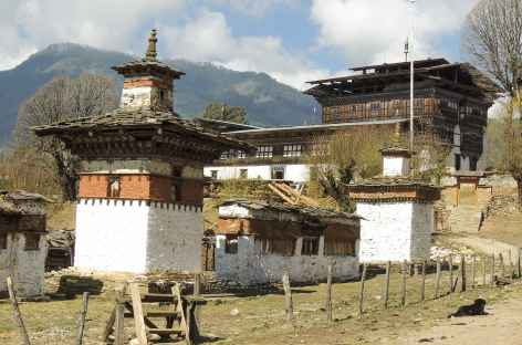 Village et palais d'Ogyenchöling - Bhoutan  -