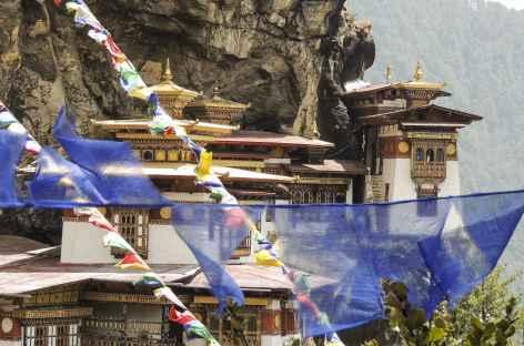 Arrivée à Taktsang - Bhoutan -