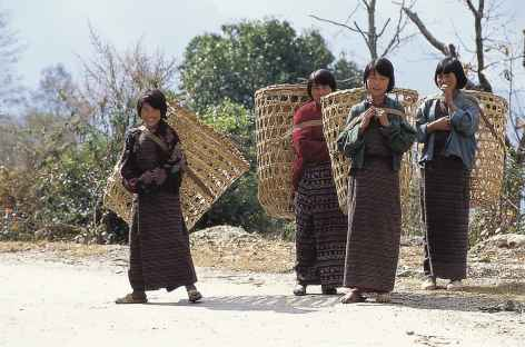 Sur le chemin des cultures - Bhoutan -