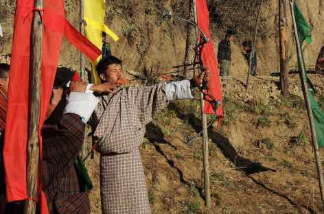 Tir à l'arc - Bhoutan -