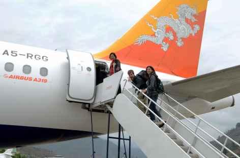 Départ du Bhoutan -