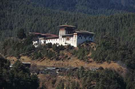Dzong de l'oiseau Blanc - Bhoutan -