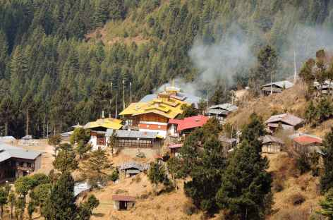 Monastère de Tharpaling - Bhoutan -