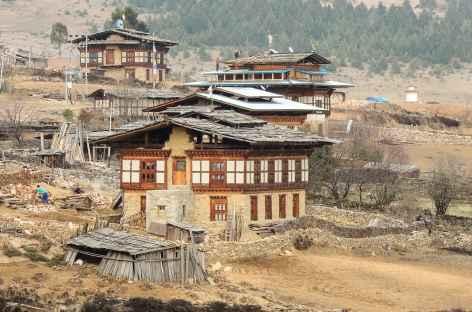 Sur les Hauteurs de Ura - Bhoutan -
