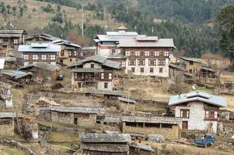 Village de Shingkar - Bhoutan -