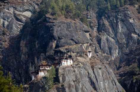 Monastère du Tigre suspendu dans la falaise - Bhoutan -