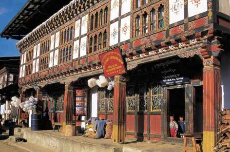 Au bazar - Bhoutan -