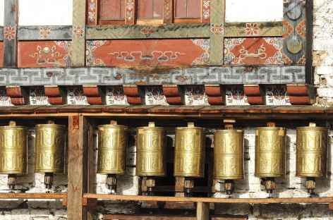 Moulins à priere - Bhoutan -