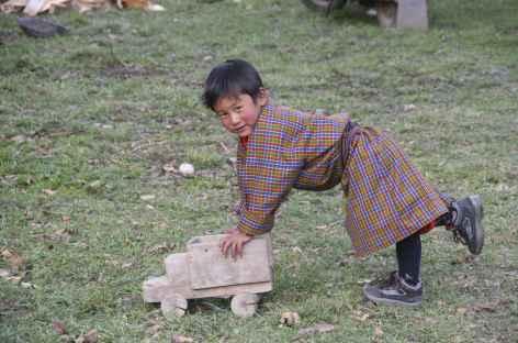 A 8 ans au Bhoutan - Bhoutan -