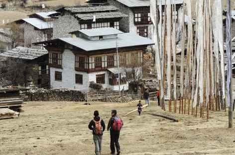 Balade dans le village - Bhoutan -