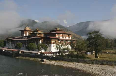 Dzong de  Punakha - Bhoutan -