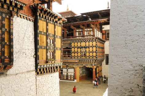 Dzong de Paro - Bhoutan -