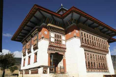 Dzong de Gangtey - Bhoutan -