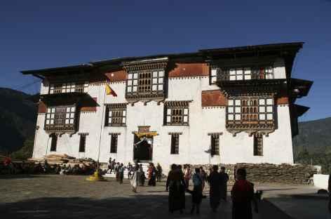 Dzong de Tashigang - Bhoutan -