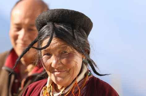 Femme Brokpa - Bhoutan -