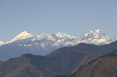 Vue sur les Sommets - Bhoutan -
