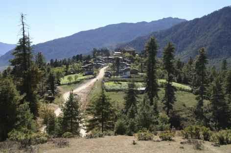 Village de Gangtey - Bhoutan -