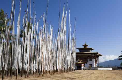 Bannières de prières - Bhoutan -