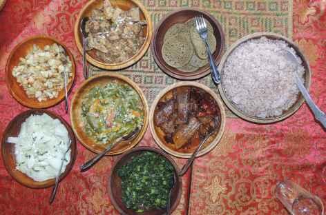 Repas typique - Bhoutan -