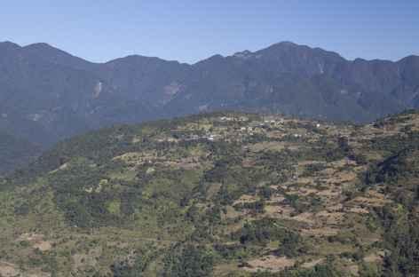 En montant vers Tashigang - Bhoutan -
