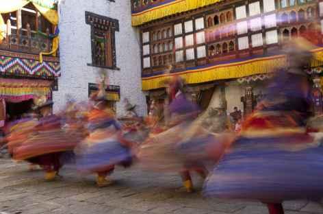 Danses au Festival - Bhoutan -