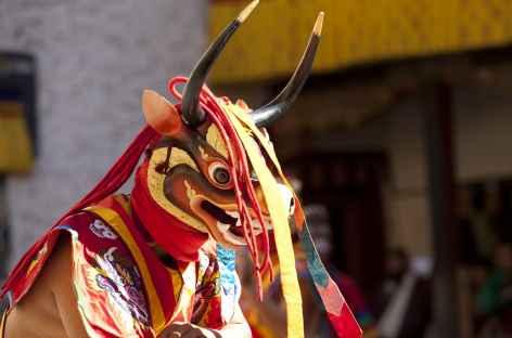 Danses masquées - Festival - Bhoutan -