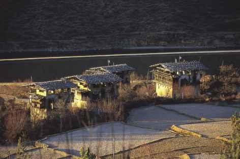 Lumière d'hiver - Bhoutan -