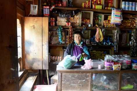 Boutique à Nobding - Bhoutan -