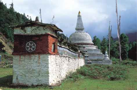 Chorten de Chendebji - Bhoutan -
