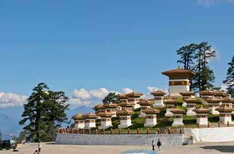 Les 108 chortens du Dochu La - Bhoutan -