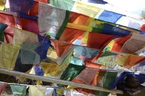 Drapeaux de prières - Bhoutan -