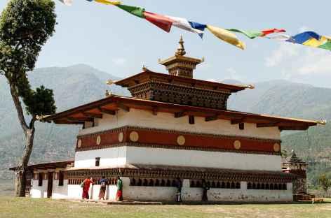 Temple de Chhimi Lhakhang - Bhoutan -